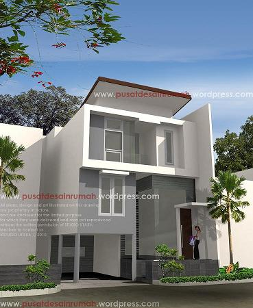 rumah minimalis split level