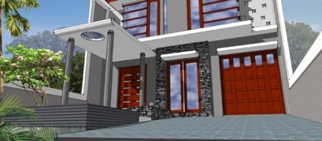 desain rumah munimalis tropis - pusat desain rumah -4