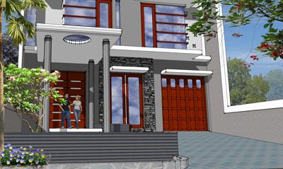 desain rumah munimalis tropis - pusat desain rumah -5