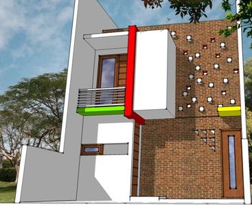 rumah three in one - 6x12 - madiun - pusat desain rumah